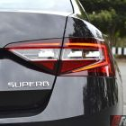 2016 skoda superb 162tsi sedan taillight