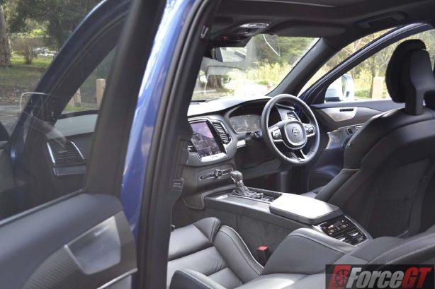 2016 volvo xc90 t6 r-design polestar dashboard