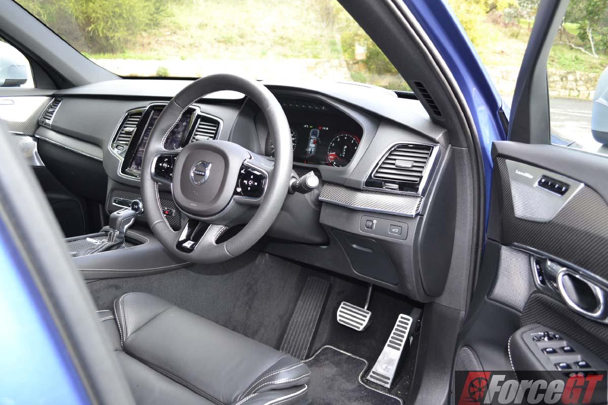 2016 volvo xc90 t6 r-design polestar interior - ForceGT.com