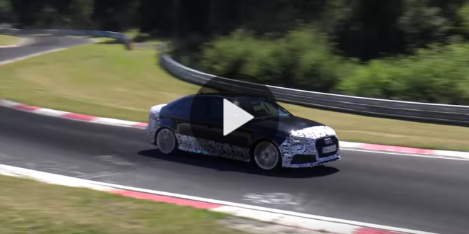 Video: 2017 Audi RS3 Sedan caught testing at Nürburgring