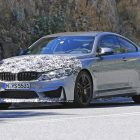 2017 bmw m4 facelift spy photo front quarter