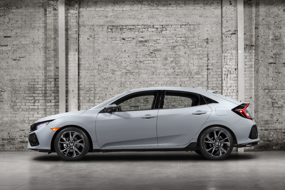 honda civic hatch officially revealed arriving early 2017. Black Bedroom Furniture Sets. Home Design Ideas
