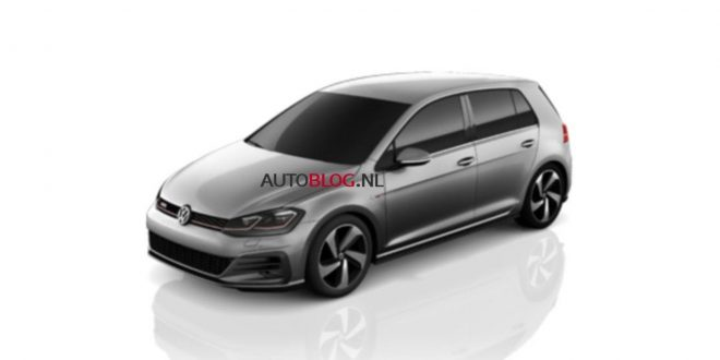 Facelifted 2017 Volkswagen Golf GTI uncovered!