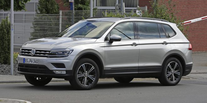 Seven-Seat Volkswagen Tiguan XL scooped ahead of 2017 arrival