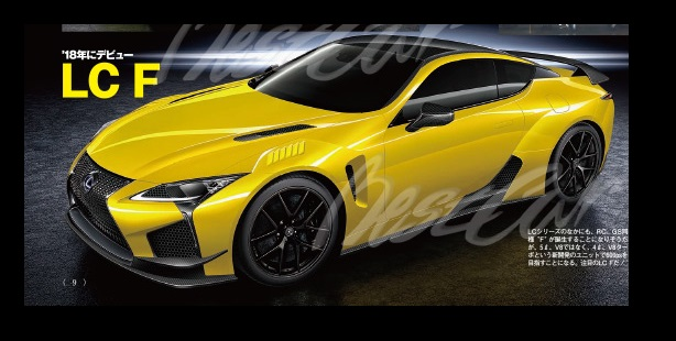 2016 Ct200h F Sport - Lexus LC F envisioned in hot new Renderings