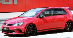 ABT-tuned volkswagen golf gti 40 years edition front quarter