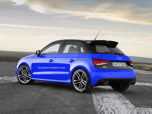 audi rs1 render rear