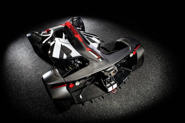 bac mono carbon rear