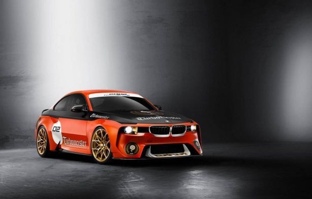 bmw 2002 hommage with livery front quarter