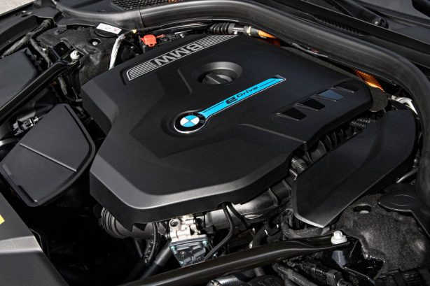 bmw 740e hybrid engine