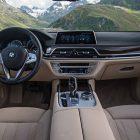 bmw 740e hybrid interior