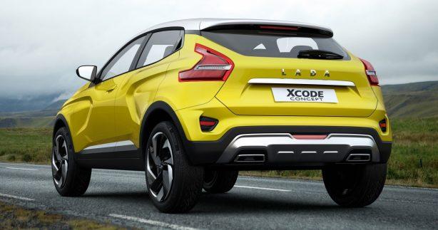 lada xcode concept rear quarter