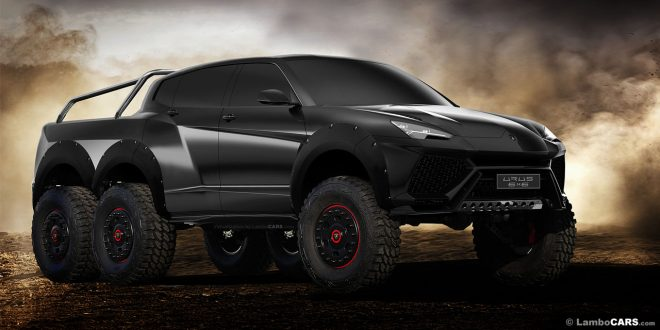 Lamborghini Urus 6×6 is the SUV we all need!