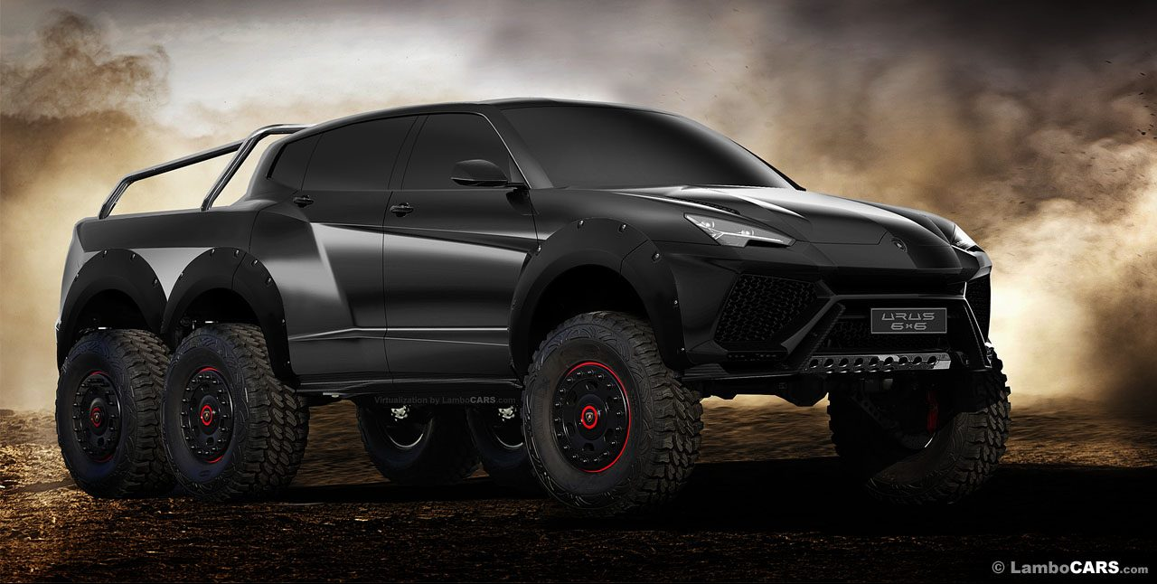 Lamborghini Urus 6x6 Is The Suv We All Need