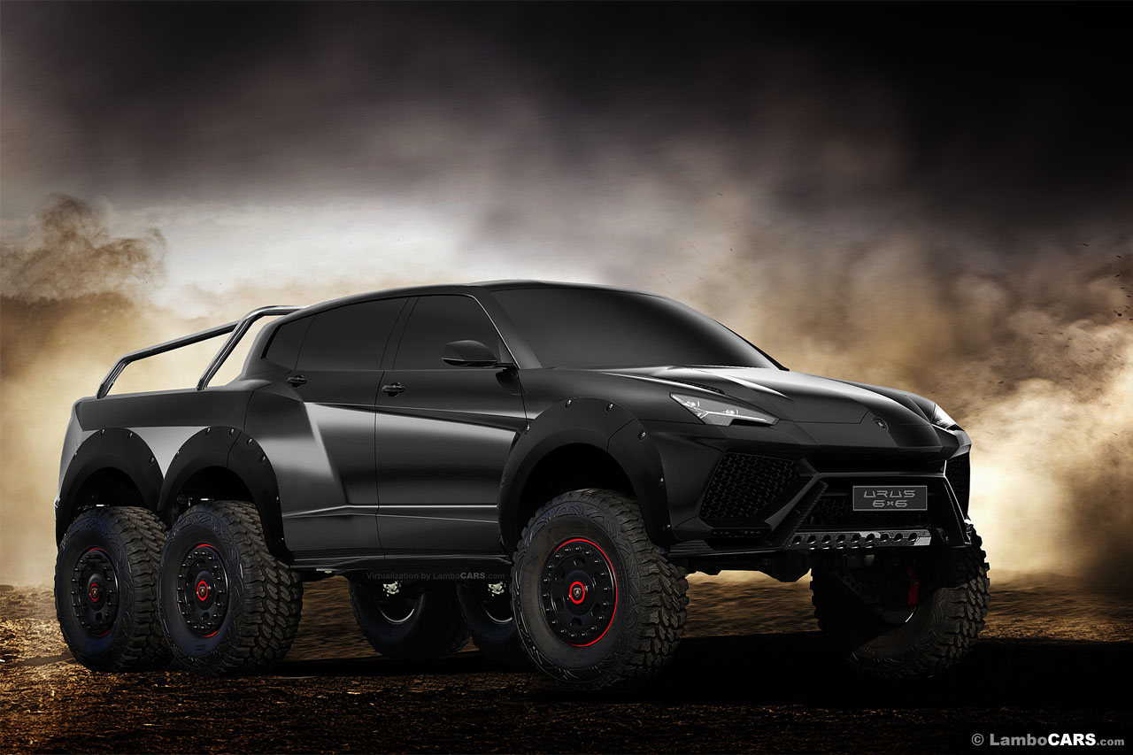 Supra For Sale >> Lamborghini Urus 6x6 is the SUV we all need!