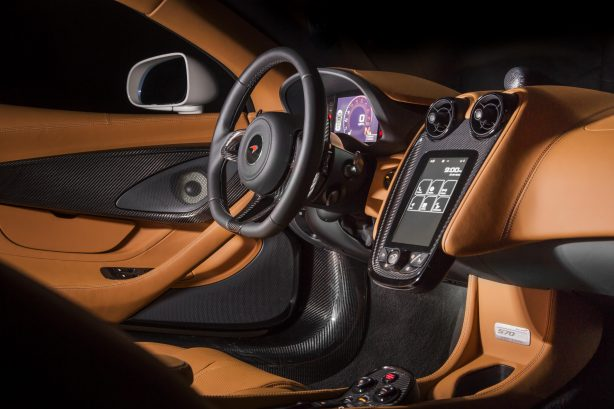 mclaren 570gt by mso concept interior