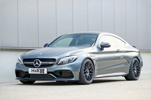 mercedes-amg-c63-coupe-h&r-lowering-springs-1