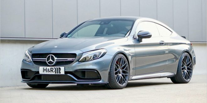 Mercedes-AMG C 63 Coupe dropped on H&R springs