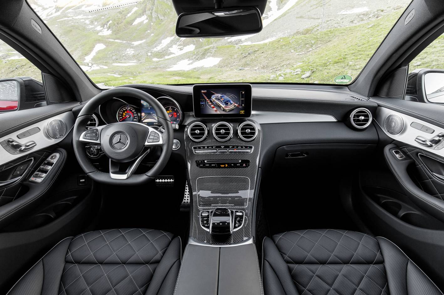 Mercedes benz glc coup pricing and specification for Mercedes benz interieur