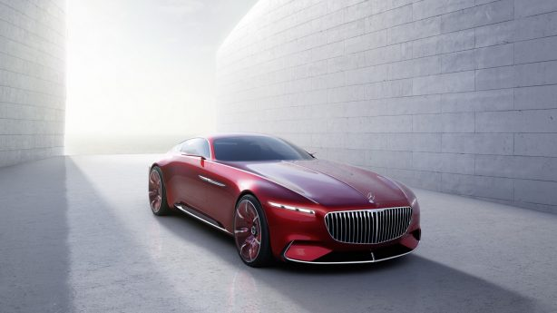 mercedes-maybach 6 concept front quarter