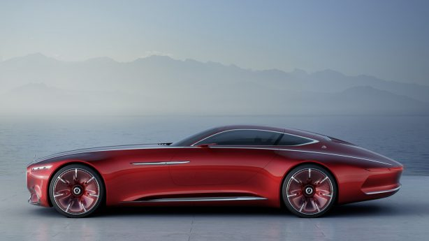 mercedes-maybach 6 concept side