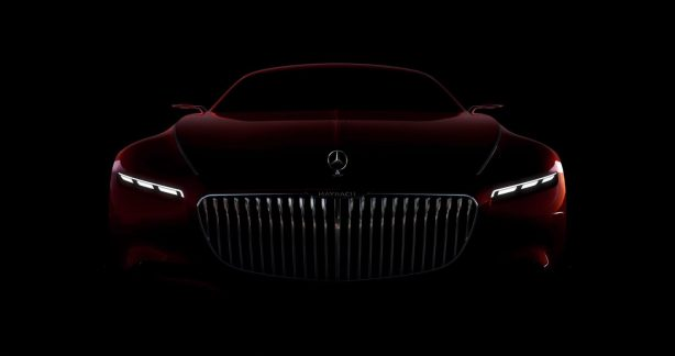mercedes-maybach 6 concept teaser front