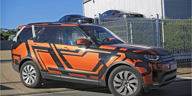 Spied: Next-Gen Land Rover Discovery stays faithful to concept