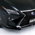 tom's lexus rx bodykit front lip spoiler