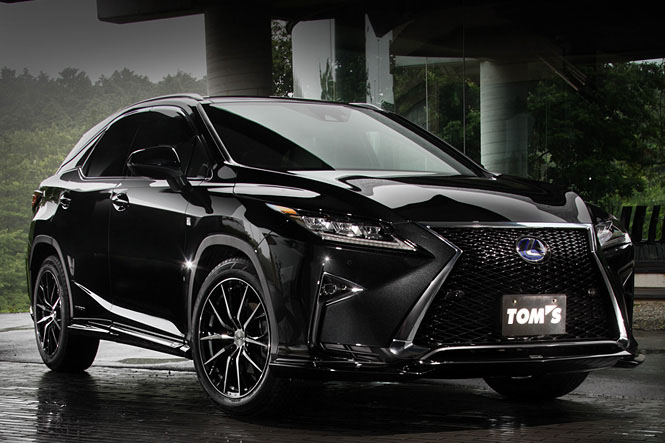 TOM'S Lexus RX body kit introduced - ForceGT.com