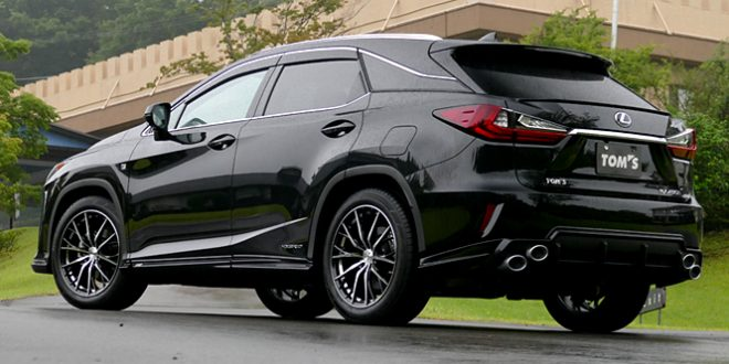 TOM'S Lexus RX body kit introduced