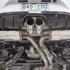 v8 powered mazda mx-5 exhaust
