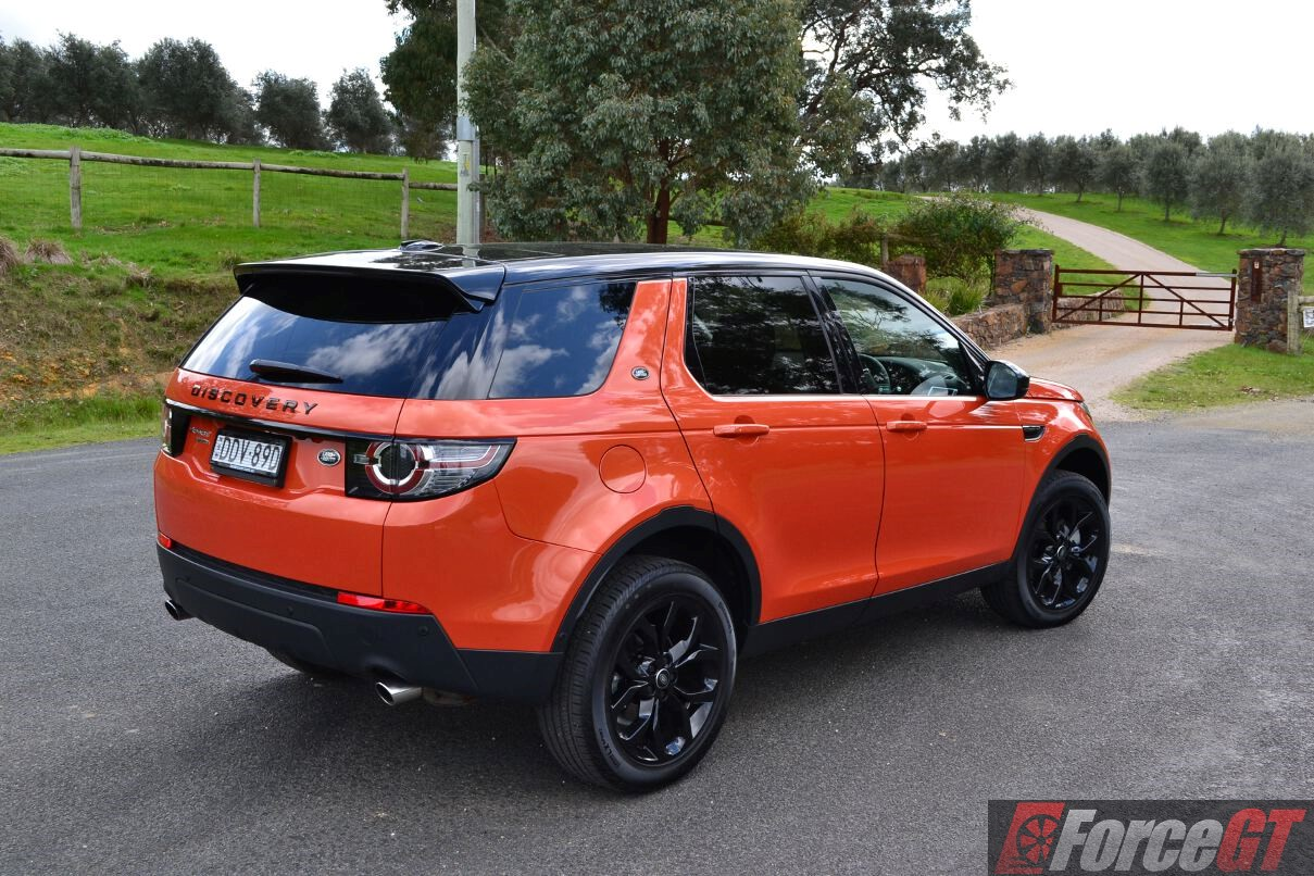 2016 land rover discovery sport si4 se review. Black Bedroom Furniture Sets. Home Design Ideas