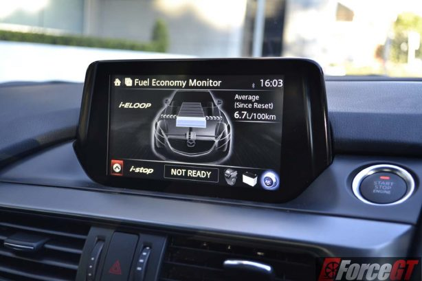 2016 mazda6 touring sedan 7-inch touchscreen