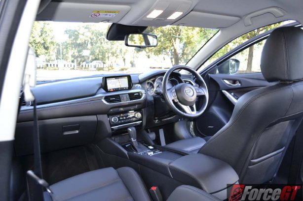 2016 mazda6 touring sedan dashboard
