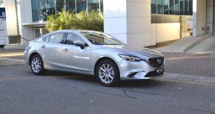 2016 mazda6 touring sedan front quarter