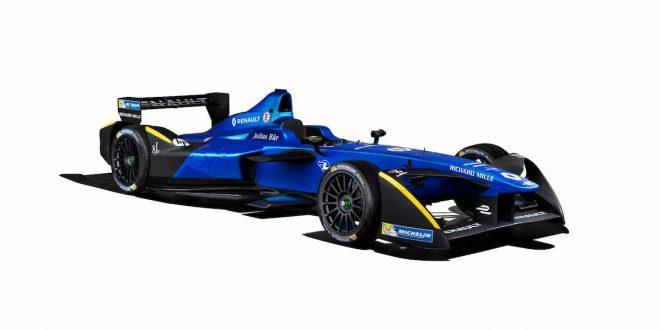 Renault Formula E Team unveils 2016/17 livery for the Renault Z.E.16