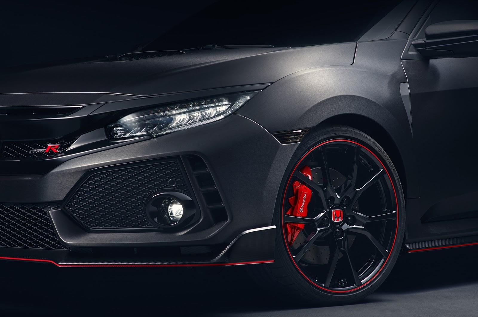 2017 Honda Civic Type R prototype bows in at Paris Motor Show ...