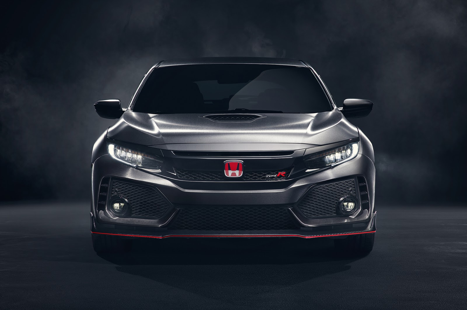 2017 honda civic type r prototype bows in at paris motor. Black Bedroom Furniture Sets. Home Design Ideas