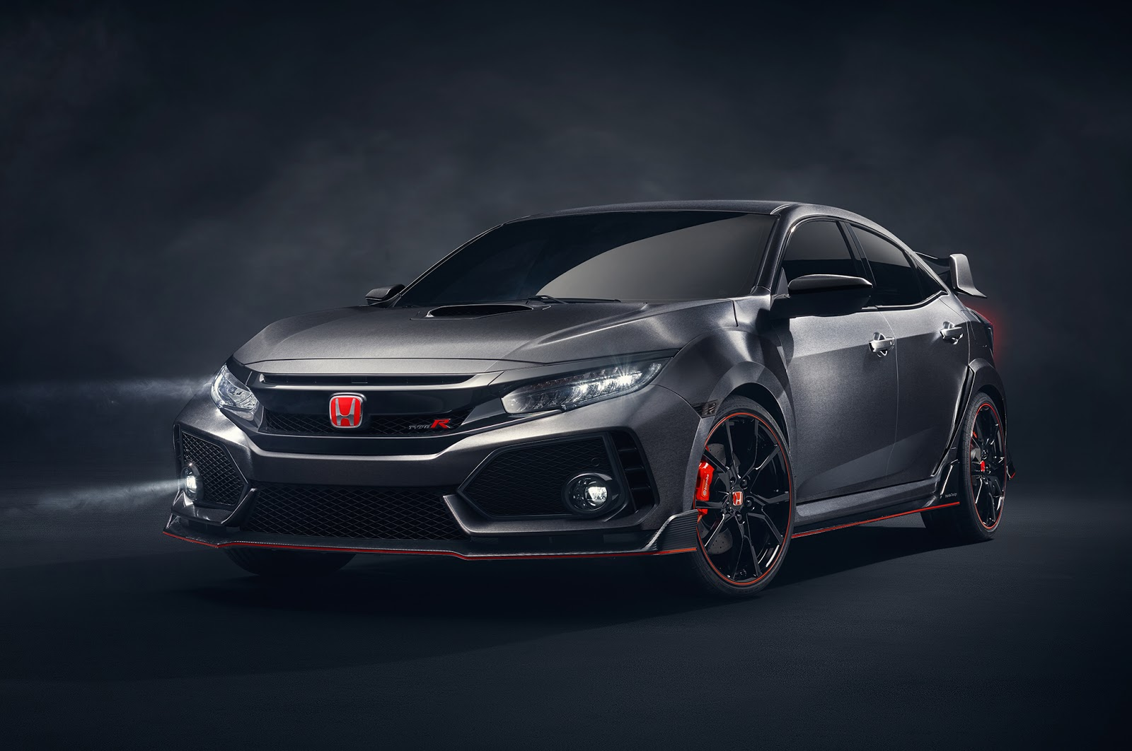 honda civic type r production model to debut in geneva. Black Bedroom Furniture Sets. Home Design Ideas