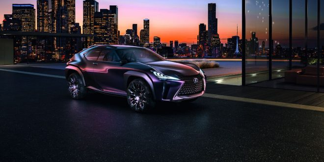 Lexus UX Concept officially unveiled – previews sub-NX crossover