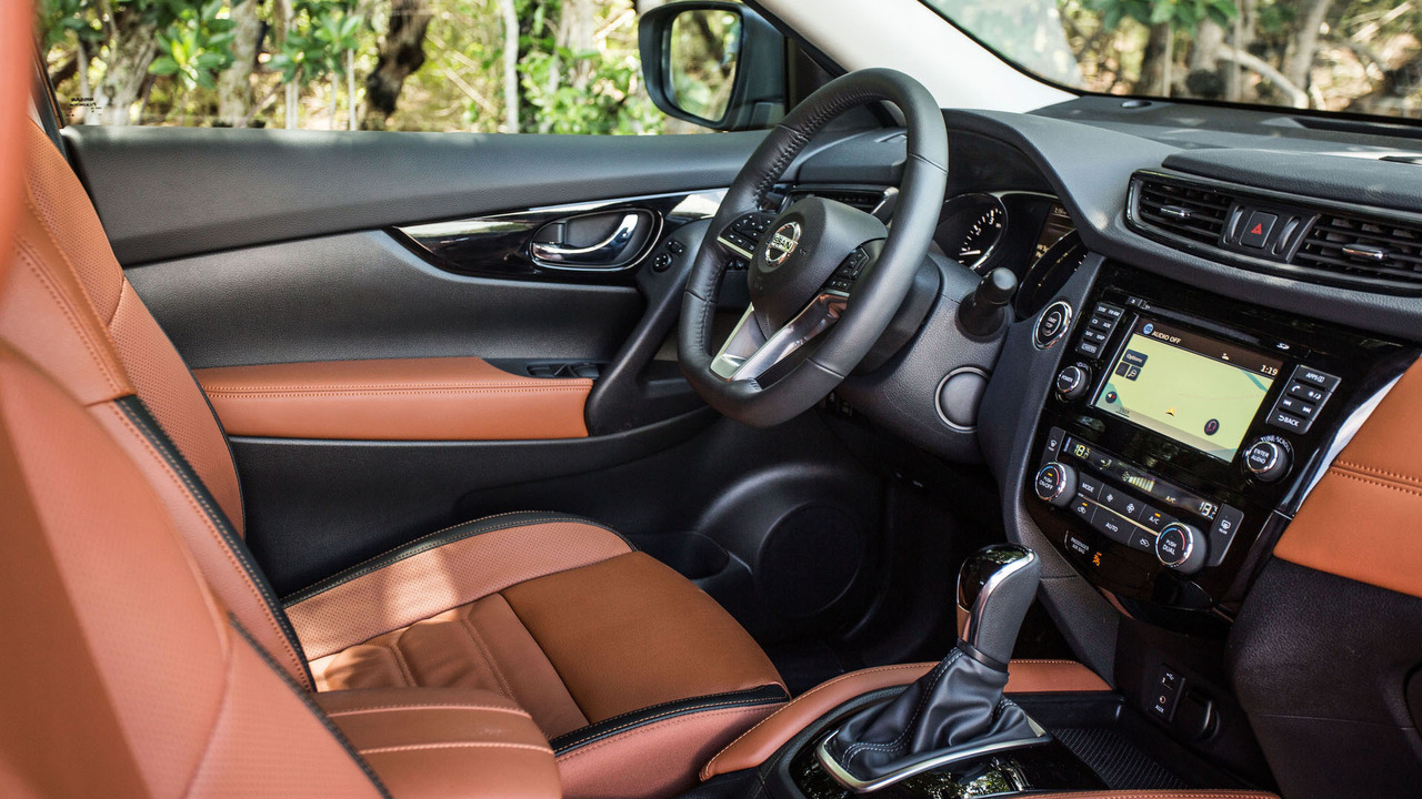 Facelifted 2017 nissan x trail unveiled for Nissan x trail interior