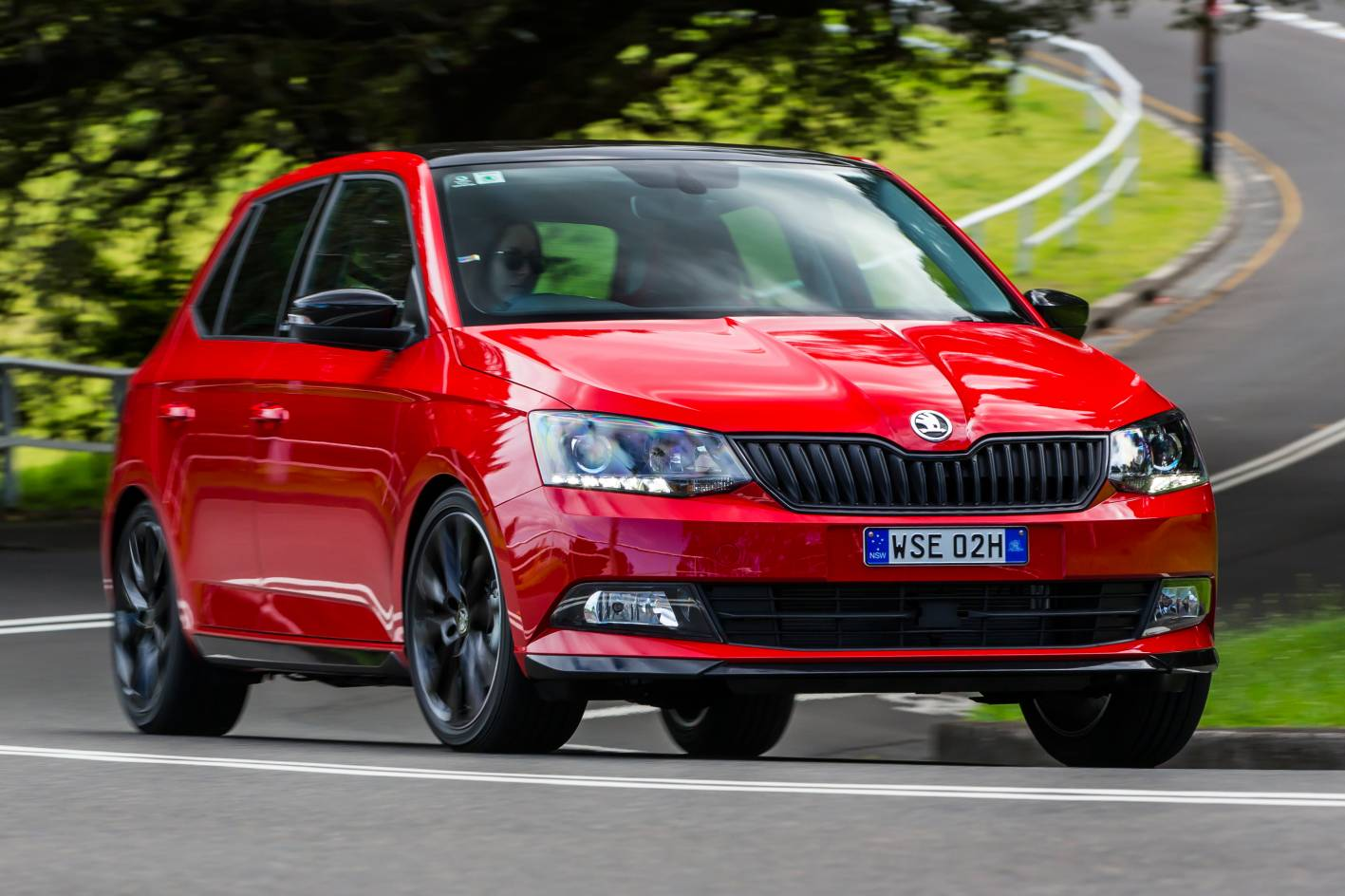 skoda fabia monte carlo honours rally spirit. Black Bedroom Furniture Sets. Home Design Ideas