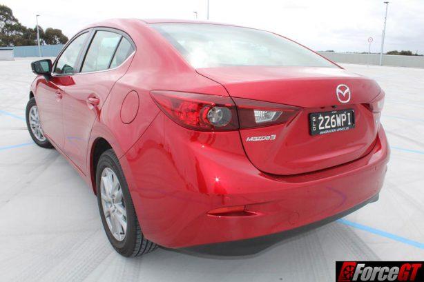 2016 Mazda 3 Maxx sedan rear