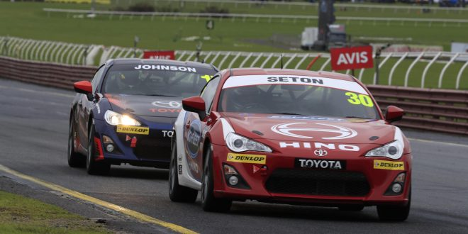 Toyota 86 Racing Series heats up at Sandown