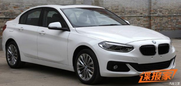 bmw 1 series sedan front quarter-1