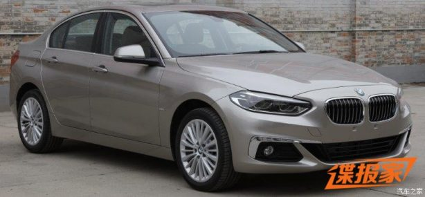 bmw 1 series sedan front quarter-2