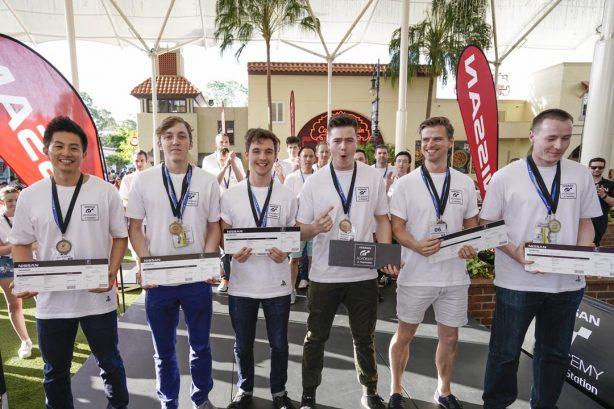 Australian GT Academy Finalists