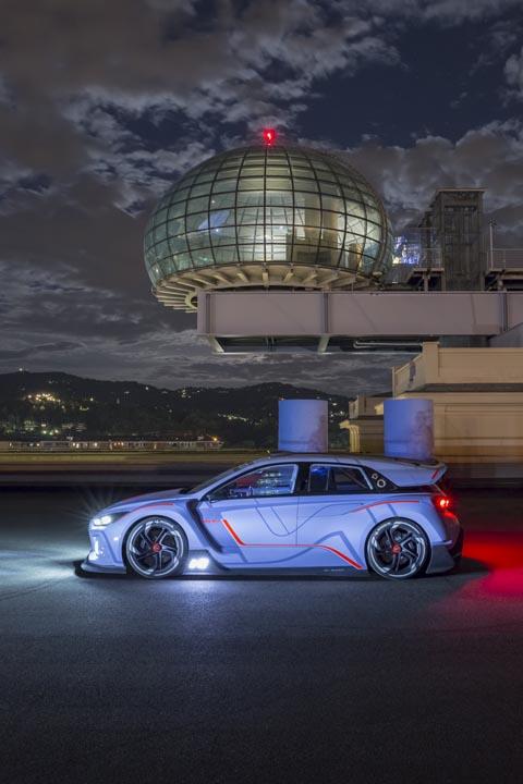 Hyundai RN30 Concept side