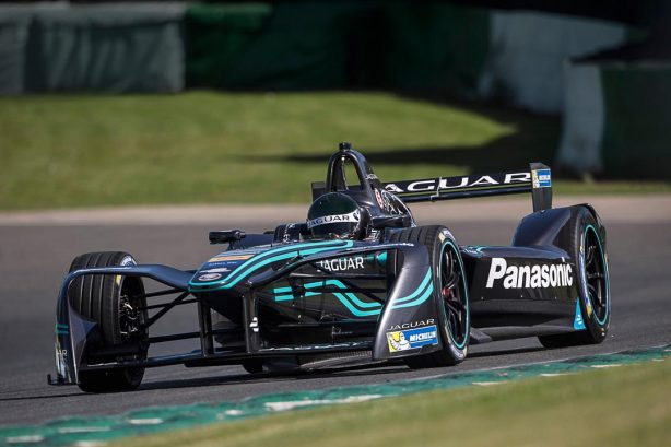 Jaguar Panasonic Formula E I-Type at circuit
