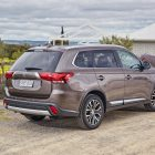 2017 Mitsubishi Outlander rear